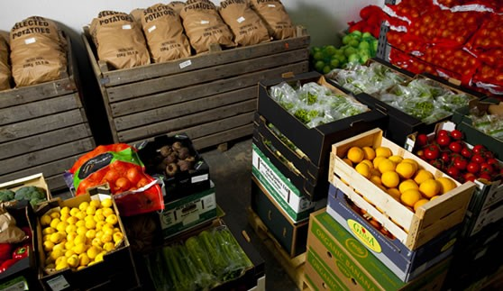 Quality organic produce for box schemes and shops