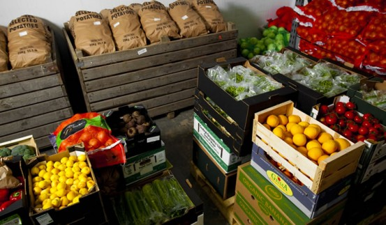Produce is kept in our chillers at our depot in Bromyard. Subscribe to our Newsletter today for updates.